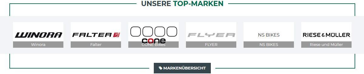 Fahrrad Marken aus 64686 Lautertal (Odenwald)