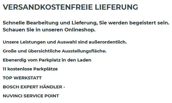 Fahrrad Lieferung für 91541 Rothenburg (Tauber)
